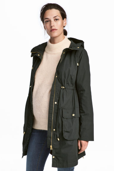MAMA Parka - Dark green - Ladies | H&M GB 1