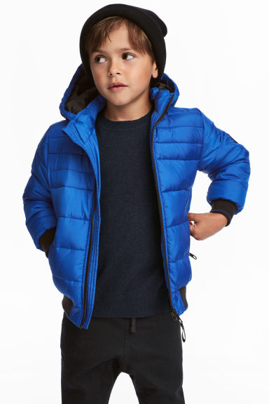 Padded Jacket - Bright blue - Kids | H&M CA 1