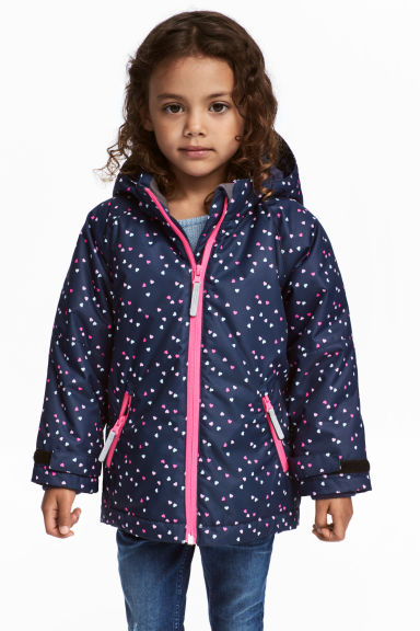 Outdoor jacket - Dark blue/Hearts -  | H&M 1