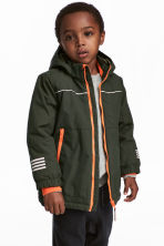 Padded Outdoor Jacket - Khaki green - Kids | H&M CA 1