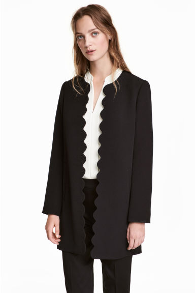 Short coat - Black - Ladies | H&M CN 1