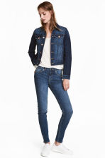 Skinny Low Jeans - Denim blue - Ladies | H&M 1