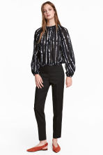 Tailored trousers - Black - Ladies | H&M CA 1