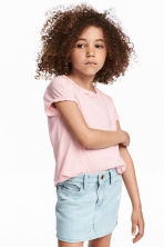 2-pack jersey tops - Light pink - Kids | H&M 1