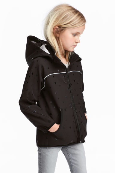 Softshell jacket - Black/Heart -  | H&M CN