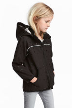 Softshell jacket - Black/Heart - Kids | H&M 1