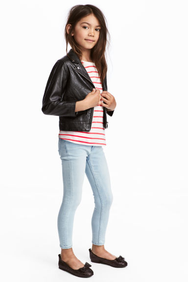 Superstretch Skinny Fit Jeans - Bleu denim clair - ENFANT | H&M BE