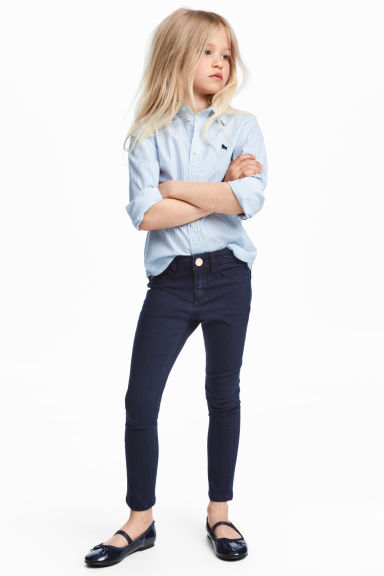 Superstretch Skinny Fit Jeans - Azul denim oscuro - NIÑOS | H&M ES
