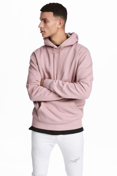 Hooded top - Pink - Men | H&M CA