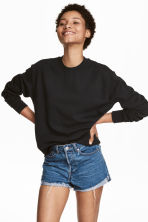 Sweatshirt - Black - Ladies | H&M CA 1