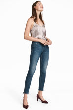 Skinny Regular Ankle Jeans - Donkerblauw - DAMES | H&M BE 1