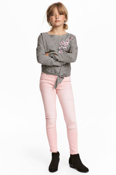 Superstretch Skinny fit Jeans - Light pink -  | H&M IE