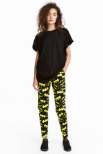 Patterned joggers - Black/Batman - Ladies | H&M 1