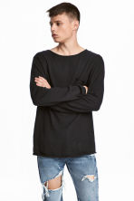 Fine-knit jumper - Anthracite grey - Men | H&M 1