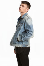 Denim jacket - Light denim blue - Men | H&M CN 1