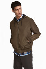 Windproof jacket - Khaki - Men | H&M 1