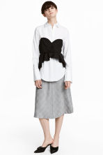 Bell-shaped skirt - Grey - Ladies | H&M 1