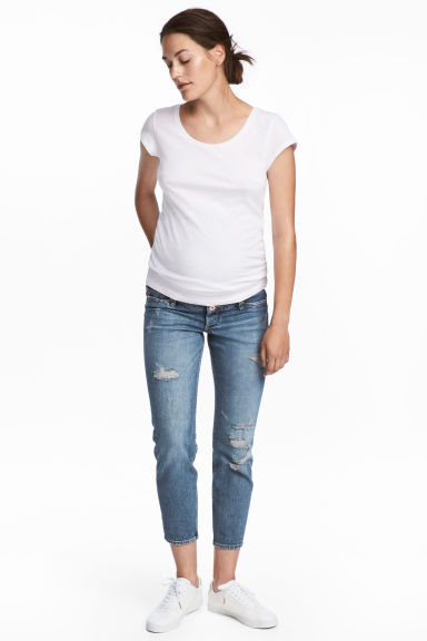 MAMA Boyfriend Jeans - Blue - Ladies | H&M CN 1