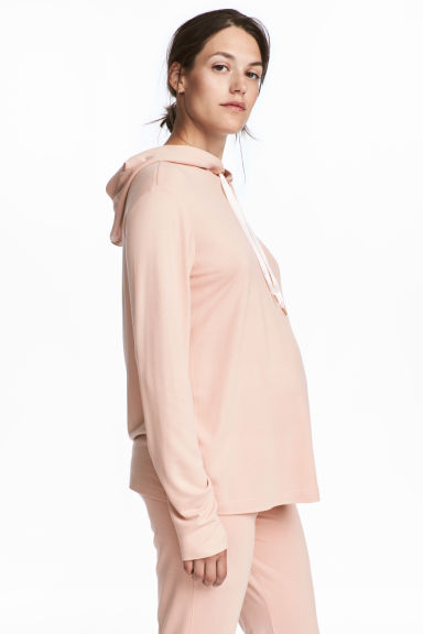 MAMA Hooded top - Powder pink - Ladies | H&M IE