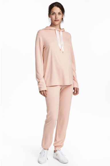 MAMA Pantalon jogger - Beige clair -  | H&M BE