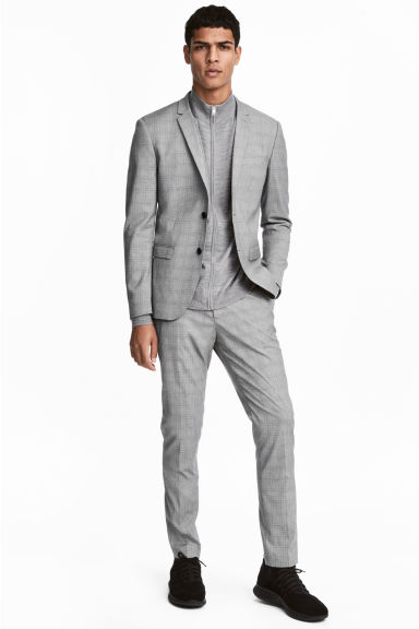 Suit Pants Skinny fit Model