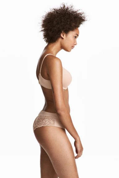 Microfibre hipster briefs - Chai - Ladies | H&M