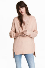 Oversized jumper - Pink - Ladies | H&M 1