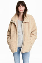 Pile jacket - Beige - Ladies | H&M 1