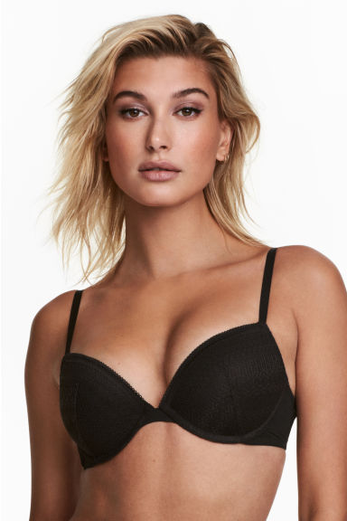 2er-Pack Push-up-BHs - Schwarz - DAMEN | H&M CH 1
