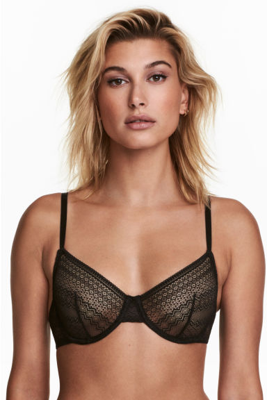 2-pack lace underwired bras Model