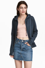 Hooded jacket - Blue marl - Ladies | H&M 1