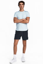 Running shorts - Dark blue - Men | H&M 1