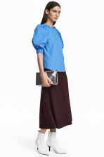 Calf-length skirt - Plum - Ladies | H&M 1