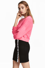 Short jumper - Neon pink - Ladies | H&M 1