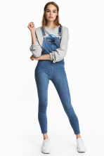 Denim salopette - Denimblauw - DAMES | H&M NL 1