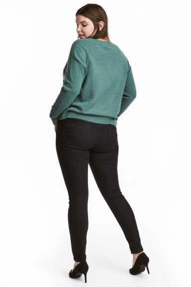 H&M+ Superstretch treggings - Black - Ladies | H&M