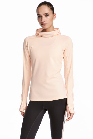 Top running - Rose poudré - FEMME | H&M BE 1