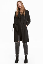 Trenchcoat - Zwart - DAMES | H&M BE 1