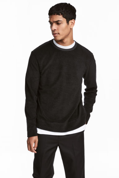 Sweater - Zwart - HEREN | H&M BE 1
