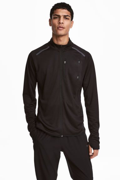 Running jacket - Black - Men | H&M CA