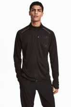 Running jacket - Black - Men | H&M CA 1