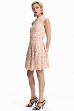 Short lace skirt - Beige - Ladies | H&M CN 1