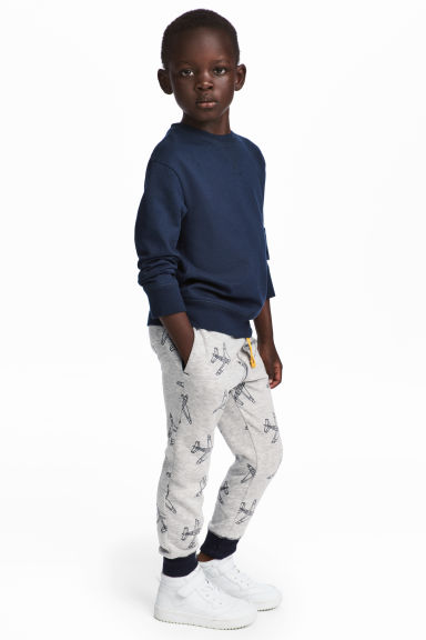 Sweatpants - Grey/Aeroplane -  | H&M