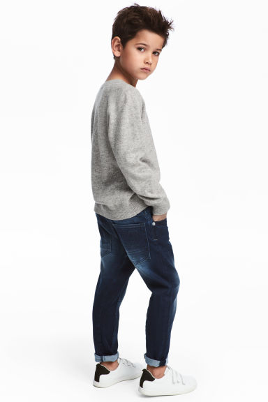 Relaxed Tapered fit Jeans - Azul denim oscuro - NIÑOS | H&M ES 1