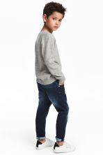 Relaxed Tapered Fit Jeans - Donker denimblauw - KINDEREN | H&M NL 1