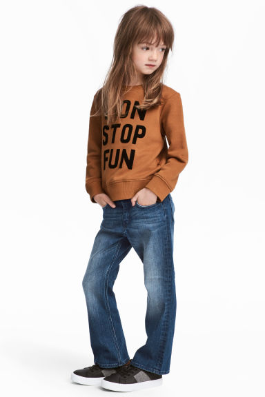 Boot Cut Jeans - Denim blue - Kids | H&M CN 1