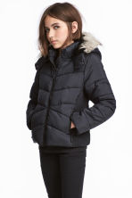 Padded jacket - Black -  | H&M 1