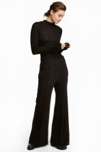 Flared trousers - Black - Ladies | H&M GB 1