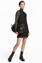 Wool-blend dress - Black - Ladies | H&M IE 1