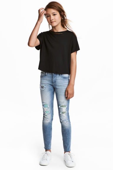 Superstretch Skinny fit Jeans - Licht denimblauw -  | H&M BE